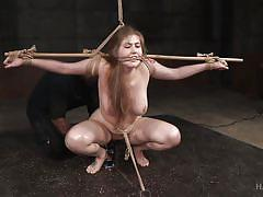Beautiful wife punished brutally for cheating