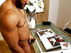 masturbation, solo, ebony, muscular, next door ebony, next door world, damian c