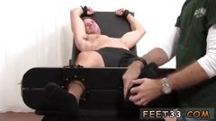 Gay twink foot wanking ticklish dane back for more