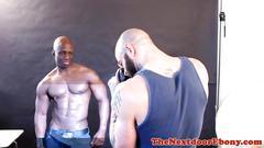 black, interracial, muscle, cumshot, nasty