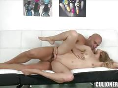 Spicy cayenne masturbation and pussy fuck