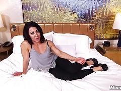 Bulked up milf amateur anal pov and facial