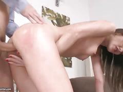 Audrey jane enjoys her boyfriend's cock
