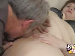 Kinky bbw cherie pussy licked