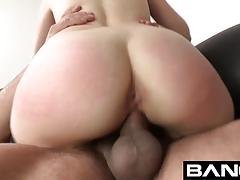 Bang casting: elektra rose spunk licking squirting queen