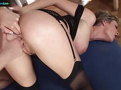 Julie silver and friend love to fist ass