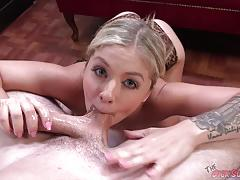 Sensual madelyn monroe sucking hard cock