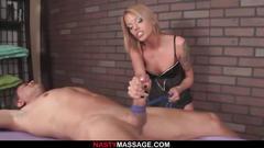 bdsm, femdom, handjob, massage