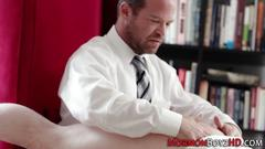 Mormon hunk gets spanked