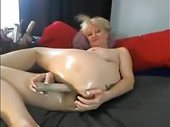 milf, f, mom, milfs, sextoys, webcams, blonde, cam, dildo, oil, shaved