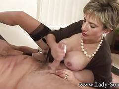 mature, e, blonde, cowgirl, missionary, cumshot, lady sonia