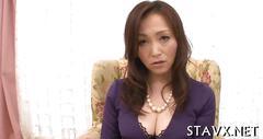Tasting asian chicks hot tits clip