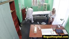 Czech patient fucked during exam by doc