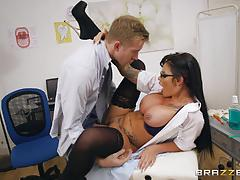 candy sexton, danny d, blowjob, riding, big tits, cumshot, busty, doctor, nurse, cowgirl, patient, sucking