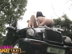 Female fake taxi cute asian has lesbian bonnet sex with big tits milf