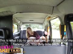 Female fake taxi cute asian has lesbian bonnet sex with big tits milf
