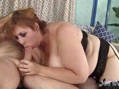 Big natural tittied girl gets fucked and facial