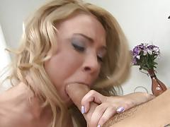 Katerina kay blowing off the first cock she finds