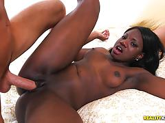 Kinky interracial trio with hot lesbians adrian maya and kay love