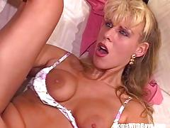 Kinky milf anal pounded ass to mouth cumshot