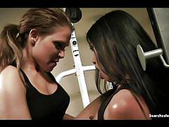 Erika jordan and cindy starfall - bad girls behind bars