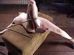 small tits, bdsm, babe, whipping, tied, domination, fingering, rope bondage, electric vibrator, hogtied, kink, the pope, dolly leigh