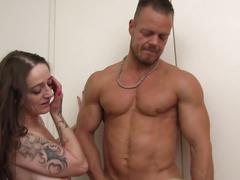 Reife swinger - german swinger threesome with cummy finale