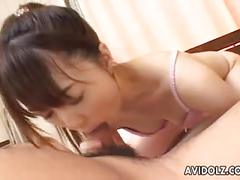 asian, n, brunette, japanese, slim, licking, cumshot