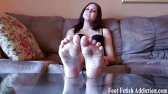 My perfect feet need to be worshiped and pampered