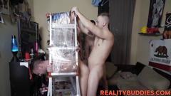 Sexy dorm guys get to fuck the dorm white bitch asshole