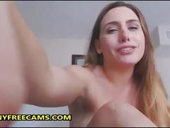 Big booty mom masturbates