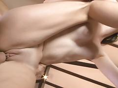 Facial for hot babe layla adams after hard fuck