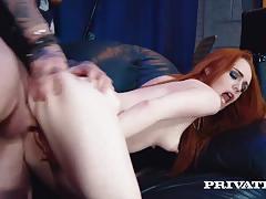 Private.com - ella hughes cum in her hairy pussy lips