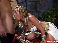 Hot healer brett rossi heals his cock