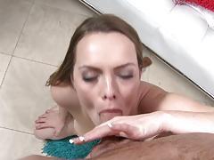 Cock sucking brunette monica rise