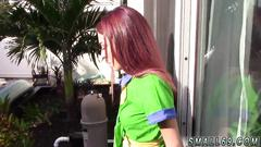 Teen first webcam with a prick almost half the size of her body this stud was able to