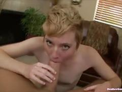 Nico sweet's first scene - and she swallows!