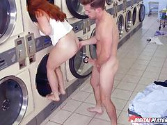 Washing machine cock sucking beauty lennox luxe