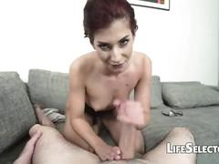 hardcore, blowjob, redhead, cocksucker, pov, cocksucking, footjob, foot, feet, interactive, hardcore-sex, point-of-view, interactiveporn
