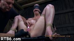 bdsm, brunette, hardcore, bondage, toy