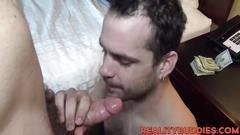 Hot ass straight guy james lending his asshole for money