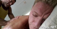 Explicit and sensual massage blowjob feature 2