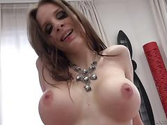 Cock hungry brunette grinds down on rocco siffredi