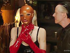 bdsm, latex, babe, redhead, blowjob, mask, education, big dick, workshop, kink university, kink, violet monroe, danarama