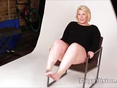 Photo shoot bareback creampie big butt pawg bbw