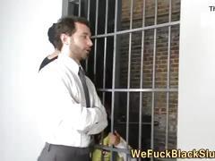 Eyes black inmate cum