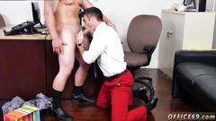 Office hunks have a fuck session after work