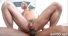 Hot twink rides a big black cock like a pro