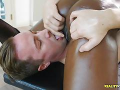 Minge stuffed black beauty ana foxxx