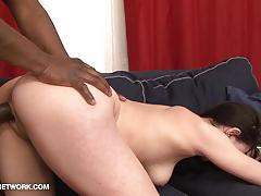 Cum licking milf casting for interracial